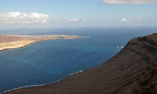 Zdjecie HISZPANIA / Wyspy Kanaryjskie / Mirador del Rio widok / Lanzarote