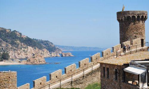 Zdjecie HISZPANIA / Katalonia / Tossa de Mar / Na wybrzeżu
