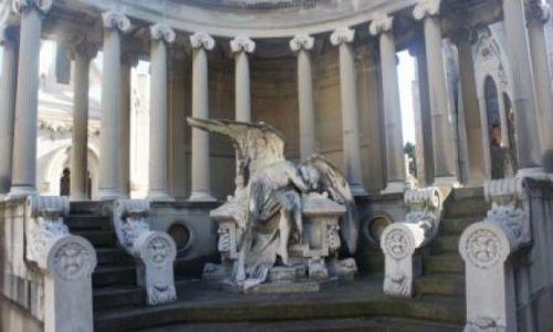 Zdjecie HISZPANIA / - / Barcelona / Cmentarz na Mon