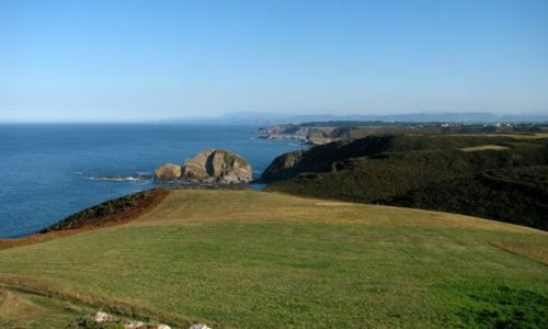 Zdjecie HISZPANIA / Asturias / El cabo Peñas / El cabo Peñas