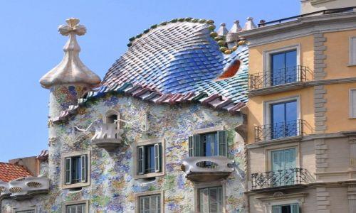 Zdjecie HISZPANIA / - / Barcelona / Casa Batllo