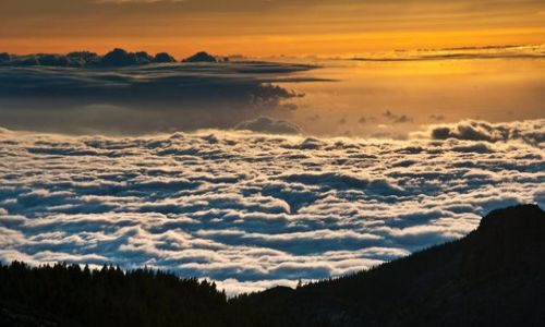 Zdjecie HISZPANIA / Teneryfa / El Teide Park / Ocean Chmur   k