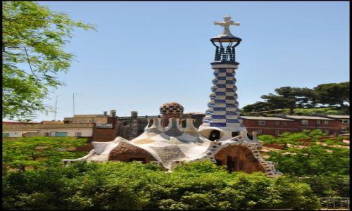 Zdjecie HISZPANIA / - / Park Guell / Gaudi ...