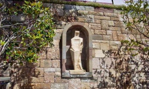 Zdjecie HISZPANIA / Katalonia / Montserrat / Rzeżba
