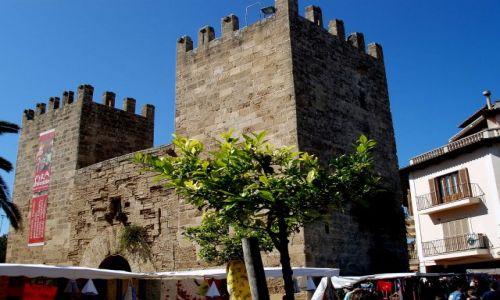 HISZPANIA / Polnoc Majorki / miasto Alcudia / Majorka-Alcudia
