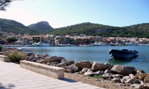 HISZPANIA / Wschodnia  Majorka / Port d\'Andratax  / Port d'Andratax