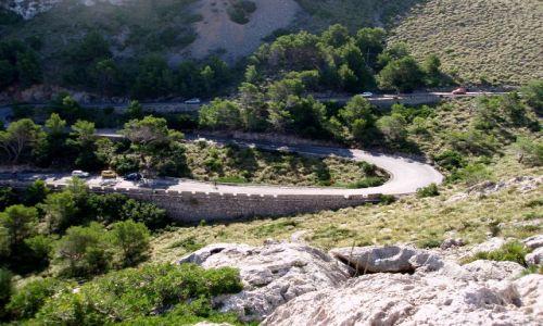 HISZPANIA / Polnocny- wschod Majorki / Droga na Formentor / Majorka-Formentor