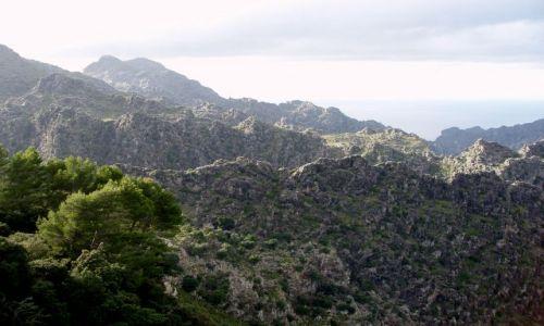 Zdjecie HISZPANIA / Polnocno -zachodnia Majorka / gory Serra de Tramuntana  / Majorka gory Serra de Tramuntana