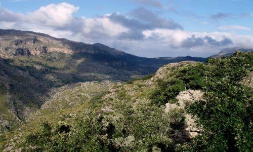 HISZPANIA / Polnocno -zachodnia Majorka / gory Serra de Tramuntana  / Majorka gory Serra de Tramuntana