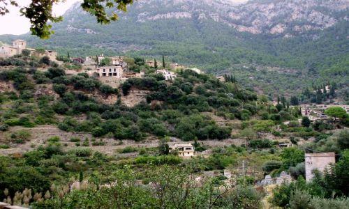 HISZPANIA / Srodkowa -zachodnia Majorka / miasteczko Deia / Majorka -Deia