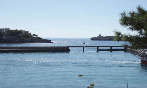 HISZPANIA / Wschodnia  Majorka / miasto Portocristo / Majorka- Portocristo