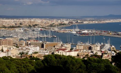 HISZPANIA / Poludnie Majorki / stolica Majorki -Palma / Majorka-Palma