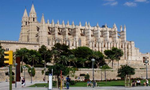HISZPANIA / Poludnie Majorki / miasto Palma / Majorka-Palma