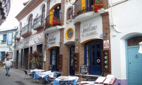 HISZPANIA / Poludnie Hiszpanii -Costa del Sol / miasteczko Nerja / Andaluzja-Nerja