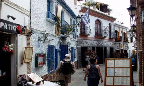 HISZPANIA / Poludnie Hiszpanii -Costa del Sol / miasteczko Nerja / Nerja