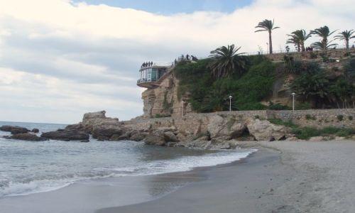 HISZPANIA / Andaluzja-Costa del Sol / Miasteczko Nerja / Andaluzja-Nerja