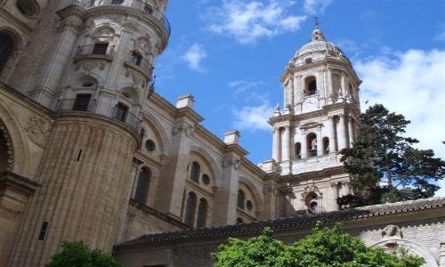 Zdjęcie HISZPANIA / Poludnie Hiszpanii  / miasto Malaga / Andaluzja -Malaga