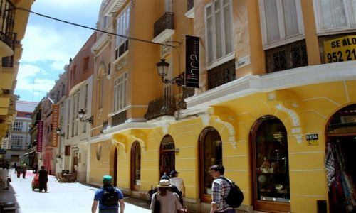 HISZPANIA / Poludnie Hiszpanii  / miasto Malaga / Andaluzja -Malaga