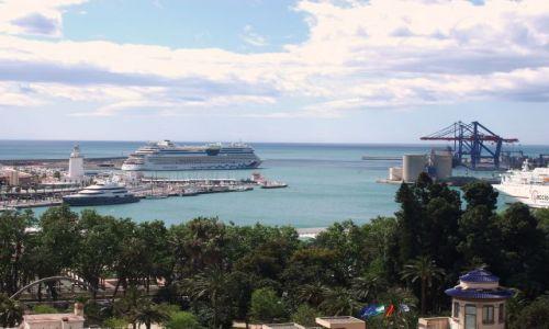 HISZPANIA / Poludnie Hiszpanii / miasto Malaga / Andaluzja-Malaga