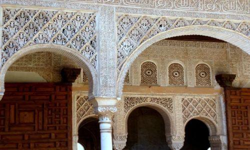 Zdjecie HISZPANIA / Poludnie Hiszpanii / Palac Alhambra w Granadzie / Andaluzja -Granada-Alhambra