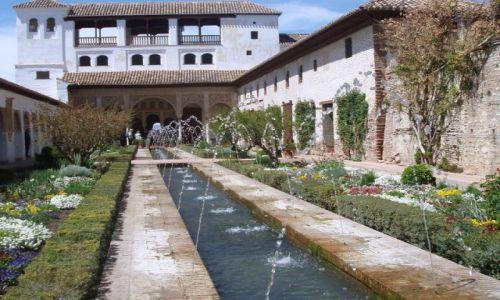 Zdjęcie HISZPANIA / Poludnie Hiszpanii / Palac Alhambra w Granadzie / Andaluzja -Granada-Alhambra
