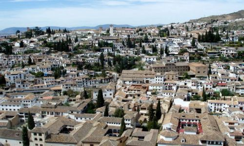 HISZPANIA / Poludnie Hiszpanii / Almambra w Granadzie / Granada-Alhambra