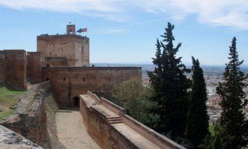 Zdjecie HISZPANIA / Poludnie Hiszpanii / Almambra w Granadzie / Andaluzja-Granada