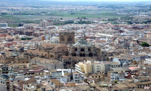 HISZPANIA / Poludnie Hiszpanii / Almambra w Granadzie / Andaluzja-Granada