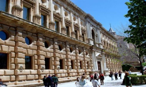 HISZPANIA / Poludnie Hiszpanii / Granada-Alhambra / Andaluzja-Granada-Alhambra