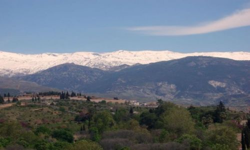 HISZPANIA / Poludnie Hiszpanii / miasto Granada / Andaluzja-Granada
