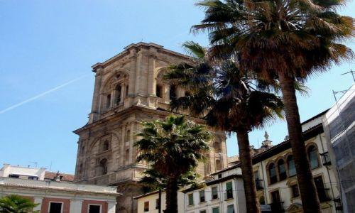 HISZPANIA / Poludnie Hiszpanii / miasto Granada-katedra / Andaluzja-Granada-katedra