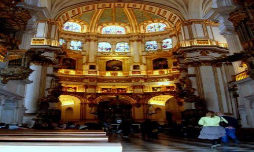 HISZPANIA / Poludnie Hiszpanii / katedra w Granadzie / Granada-katedra