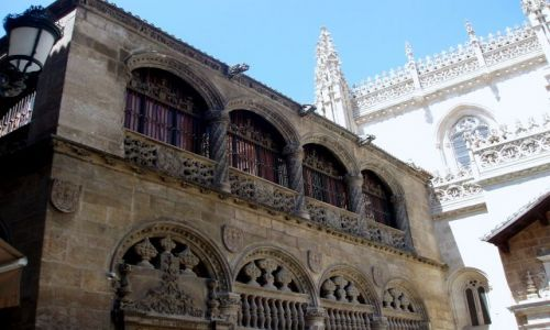 HISZPANIA / Andaluzja / Granada-Kaplica Krolewska / Granada Kaplica Krolewska