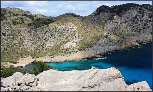 Zdjecie HISZPANIA / Majorka / północno-wschodnia część wyspy / zatoczka