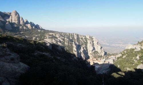 Zdjecie HISZPANIA / Katalonia / Montserrat / góry zębowe i klasztor