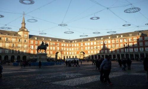Zdjecie HISZPANIA / Madryt / Madryt, Plaza Mayor / Plaza Mayor popołudniowa porą