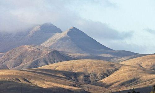 Zdjecie HISZPANIA / Fuerteventura / Montana Cardon / Fuerteventura