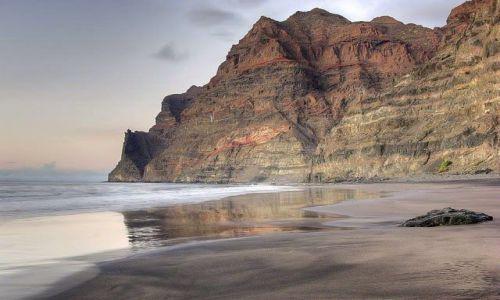 Zdjecie HISZPANIA / Wyspy Kanaryjskie  / Gran Canaria / Pusta plaża