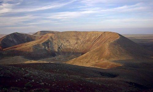 HISZPANIA / Wyspy Kanaryjskie  / Fuerteventura / Kratery
