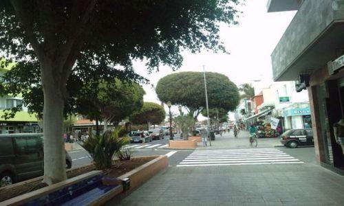 Zdjecie HISZPANIA / Fuerteventura / Corralejo / Centrum miasta Corralejo