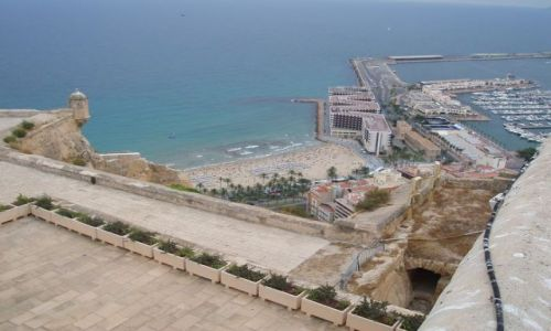 HISZPANIA / Srodkowo-Wschodnia Hiszpania / Zamek sw  Barbary / Alicante