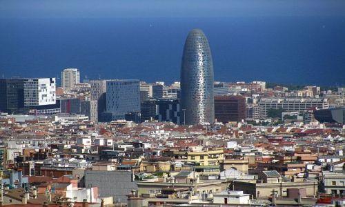 Zdjecie HISZPANIA / Katalonia / Barcelona / widok z parku Guell