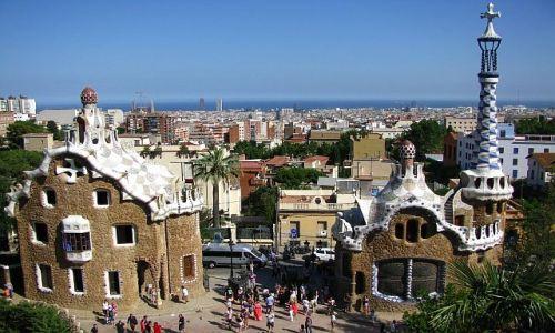 Zdjecie HISZPANIA / Katalonia / Barcelona / park Guell
