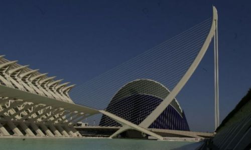 HISZPANIA / valencia / valencia / the work of santiago calatrava and felix candela