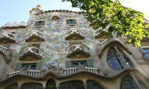 Zdjecie HISZPANIA / Katalonia / Barcelona / casa Batllo