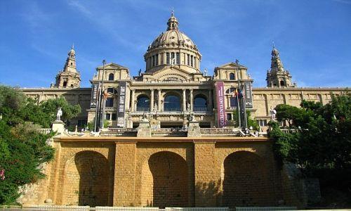 Zdjecie HISZPANIA / Katalonia / Barcelona / Narodowe Muzeum Sztuki Katalonii