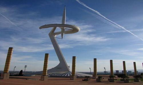 HISZPANIA / Katalonia / Barcelona / wieża Telefoniki