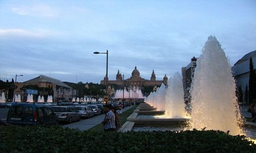 HISZPANIA / Katalonia / Barcelona / Plac Hiszpański