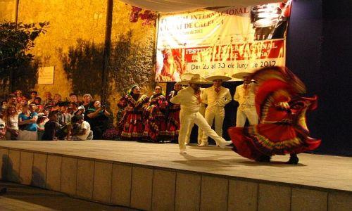 Zdjęcie HISZPANIA / Costa del Maresme / Calella / festiwal folklorystyczny