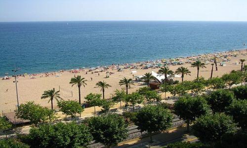 HISZPANIA / Costa del Maresme / Calella / plaże Calelli